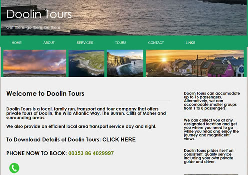doolin tours website
