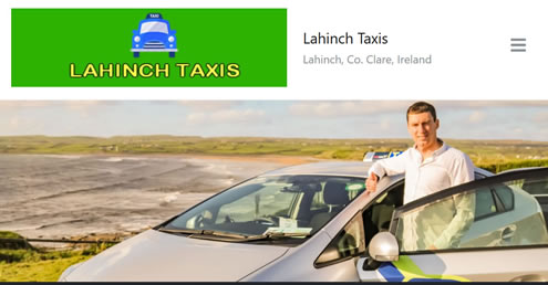 lahinch taxis website